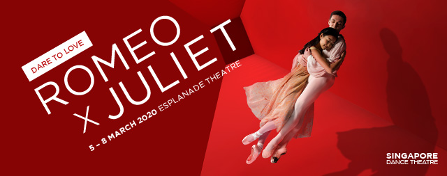 Romeo and Juliet<br>Presented by Singapore Dance Theatre