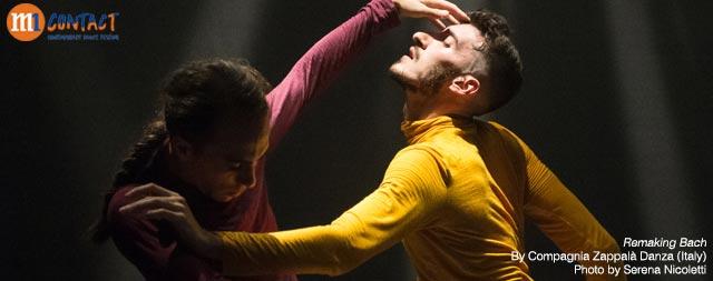 M1 CONTACT Contemporary Dance Festival 2020 <br>Remaking Bach <br>By Compagnia Zappalà Danza (Italy)