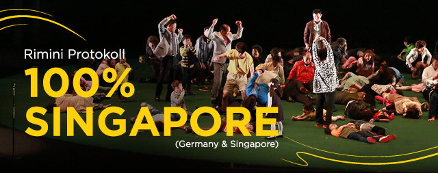 [CANCELLED] Singapore International Festival of Arts 2020<br> 100% Singapore by Rimini Protokoll (Germany & Singapore)